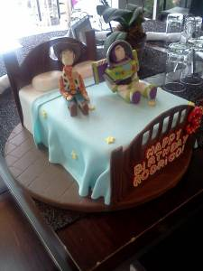 Toy Story, Buzz Lightyear, Woody, Pixar, kids cake, shaped cake, fondant cake, birthday cake, denver, colorado