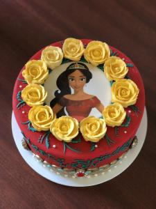 Cake, princess of Avalor, Disney, princess, birthday
