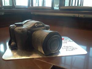 Camera cake, Canon cake, custom cake, shaped cake, fondant cake, birthday cake, photography, photographer, denver, colorado