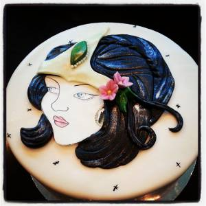 Gypsy cake, custom cake, tattoo cake, birthday cake, denver colorado, custom cake, fondant
