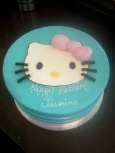 Hello kitty, custom cake, fondant cake, birthday cake, baby shower, bridal shower, wedding cake, Sanrio, cats, denver, colorado