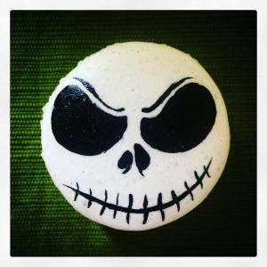 Halloween, Denver French Macaron, Jack Skellington, Gluten Free Denver, Cookie Denver