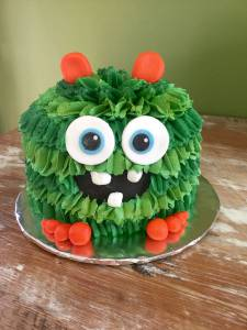 Monster cake, buttercream cake, birthday cake, custom cake, kids cake, denver, colorado