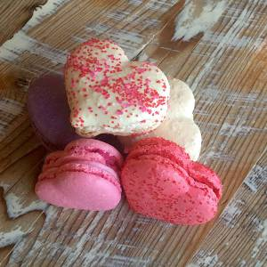 Heart cookies denver, french macaron denver, gluten free denver, Valentine's Day denver